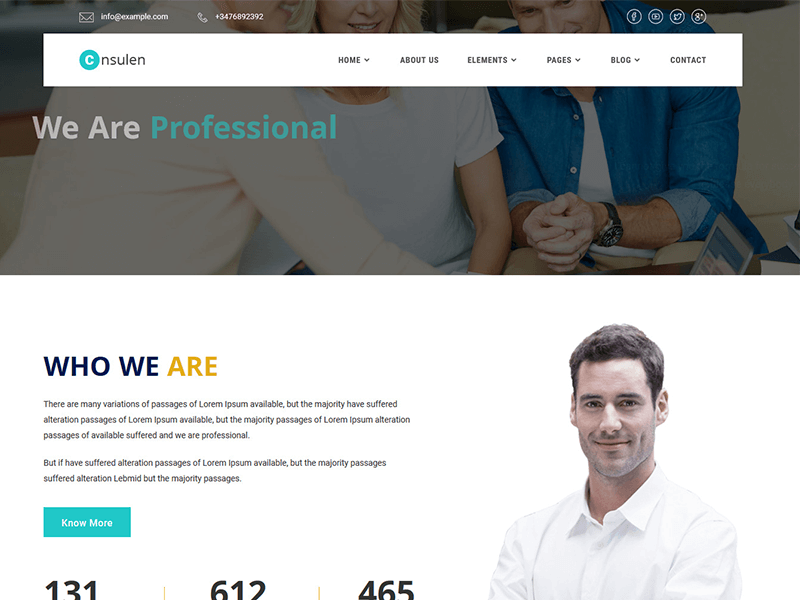 Consulen - Consulting Business HTML Template