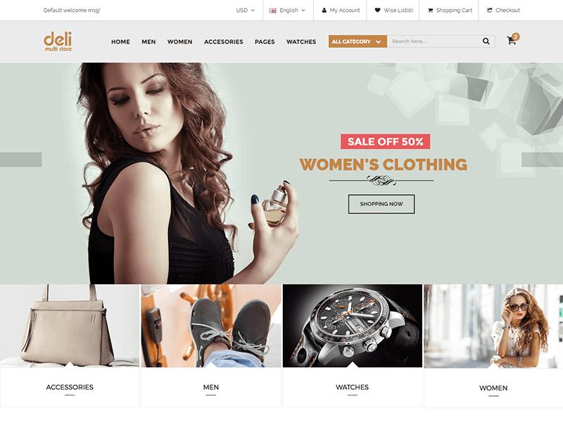 Deli - Fashion HTML Template