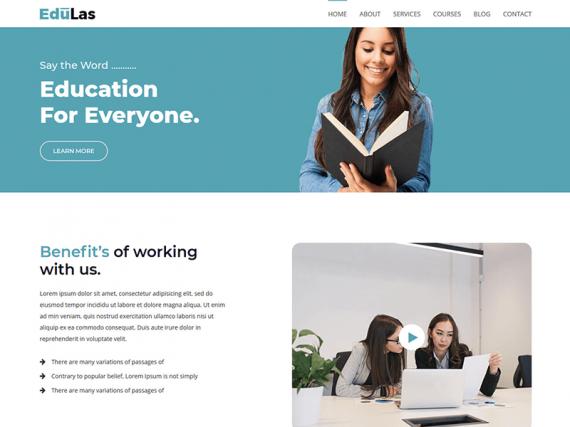 Edulas - Education HTML Template