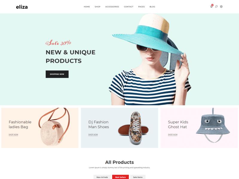 Eliza - Fashion HTML Template