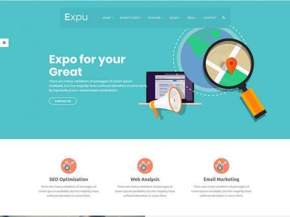 Expu - SEO & Marketing Bootstrap Template