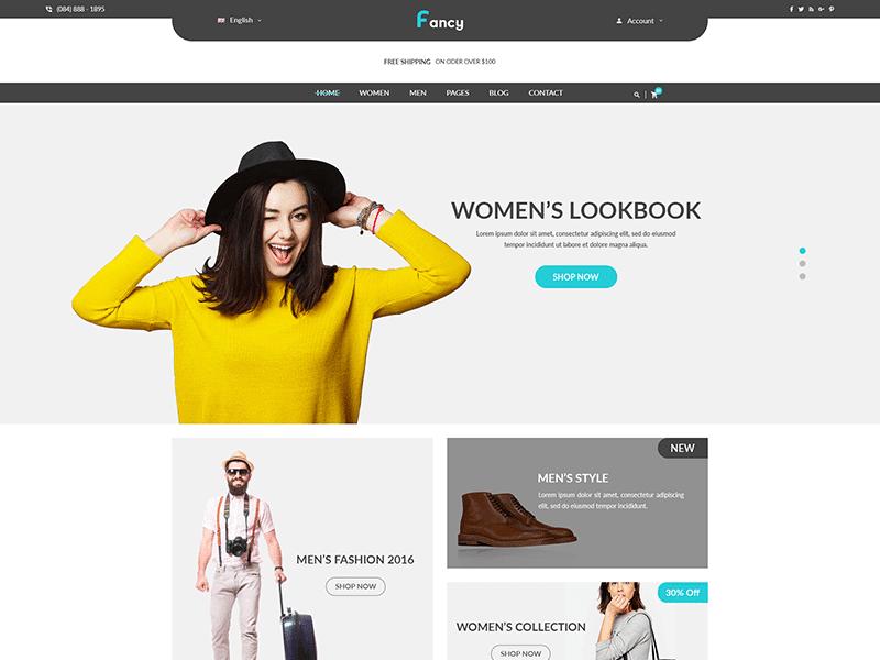 Fancy - Fashion HTML Template