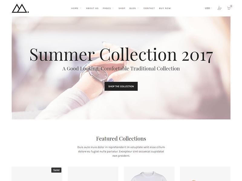 Mira - Fashion HTML Template