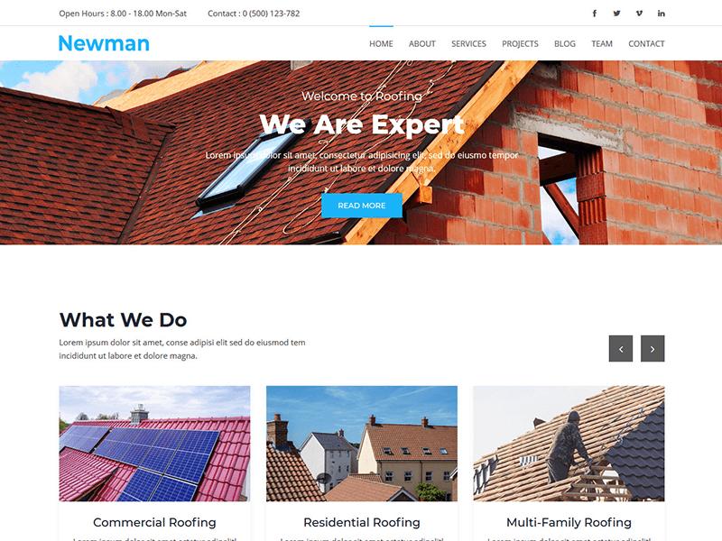 Newman - Resort & Hotel Template