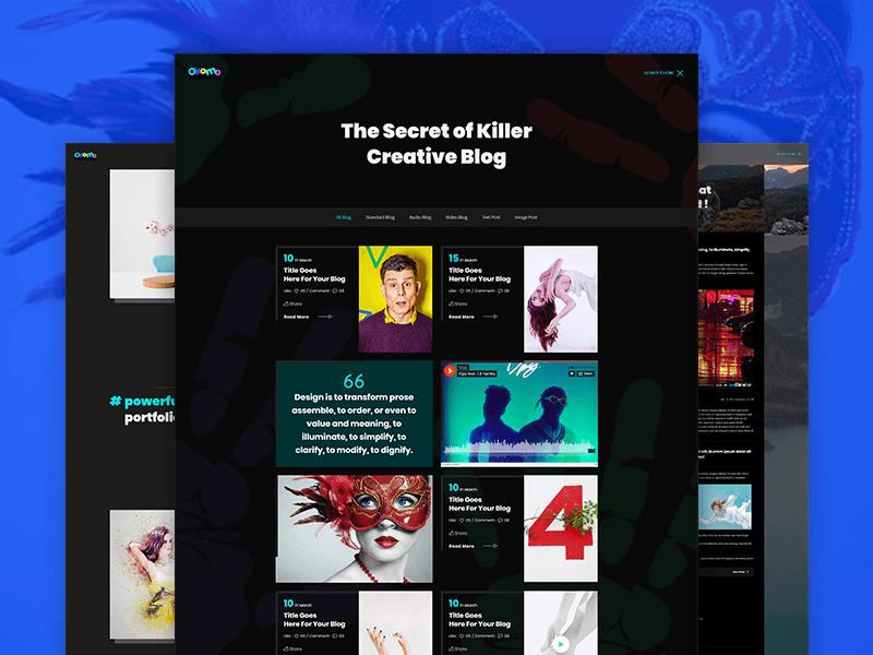 Okomo - Creative Portfolio HTML Template