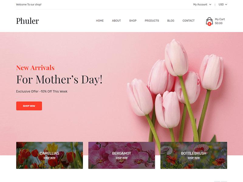 Phuler - Flower HTML Template