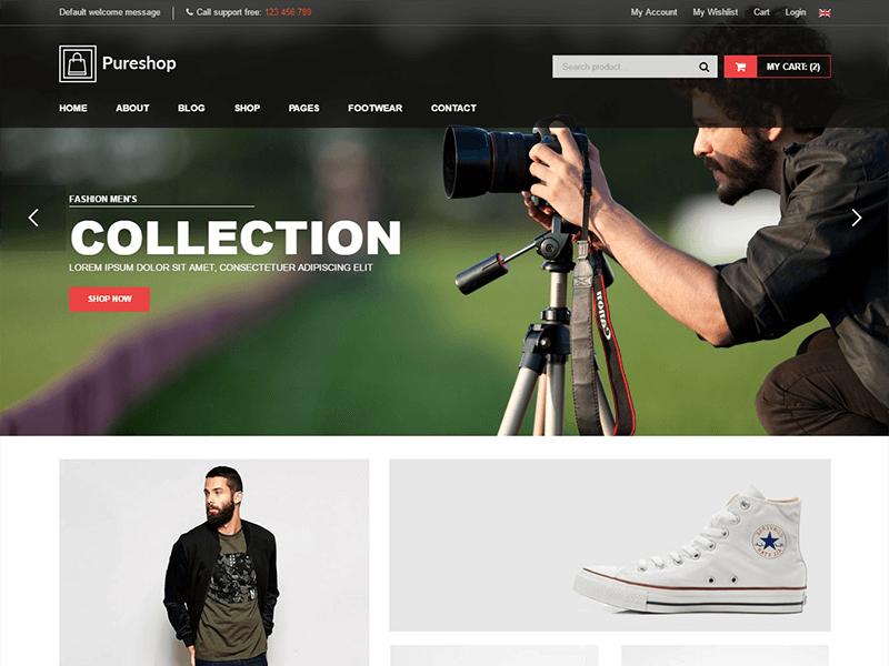 Pureshop - Fashion Shop HTML Template