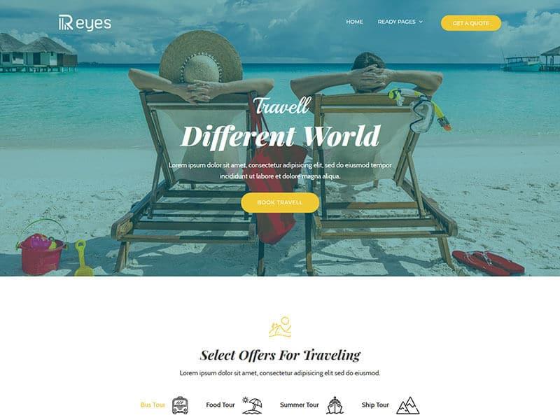 Reyes - Multipurpose Landing Page HTML Template