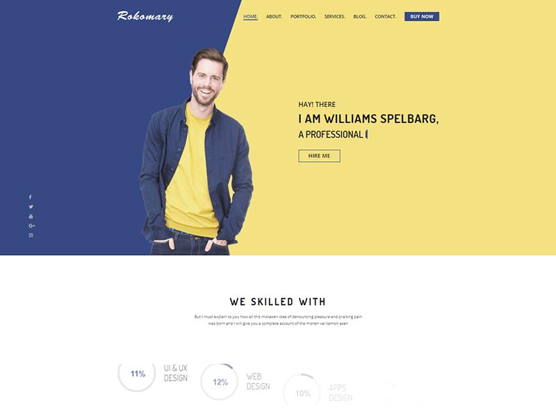 Rokomary - Portfolio HTML Template