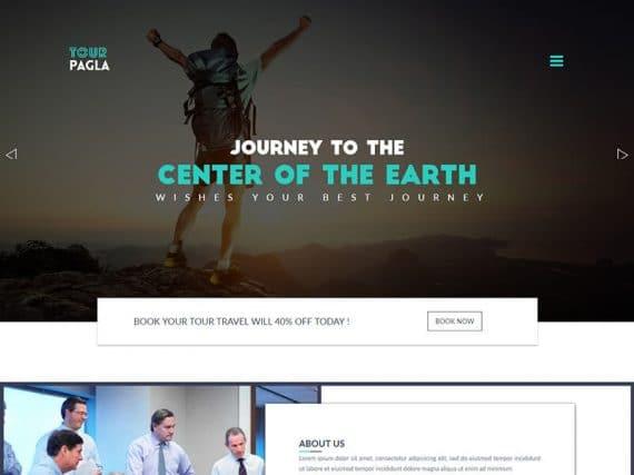 Tour Pagla - Tour & Travel HTML Template
