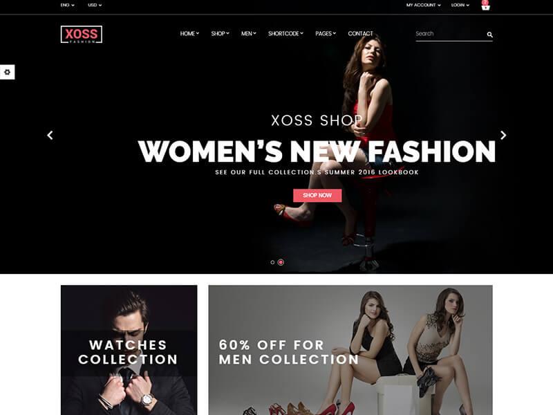 Xoos - Fashion HTML Template