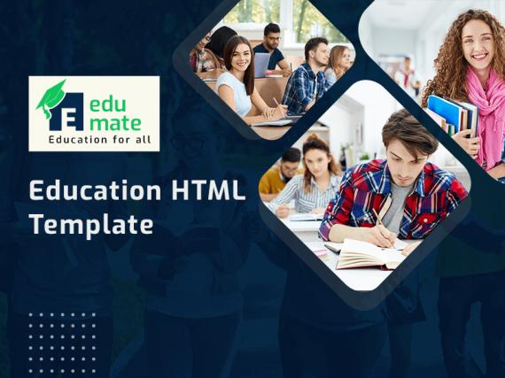 Edumate - Education HTML Template