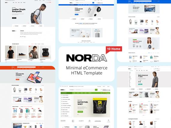 Norda - Minimal eCommerce HTML Template
