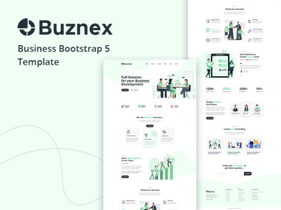 Buznex - Corporate Business Bootstrap5 Template