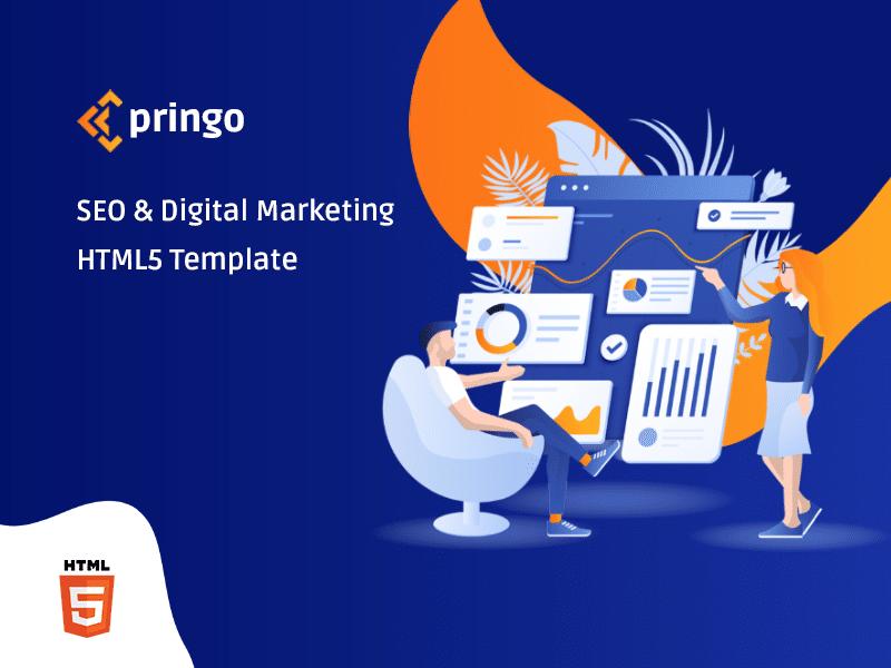 Pringo Digital Marketing Bootstrap 5 Template